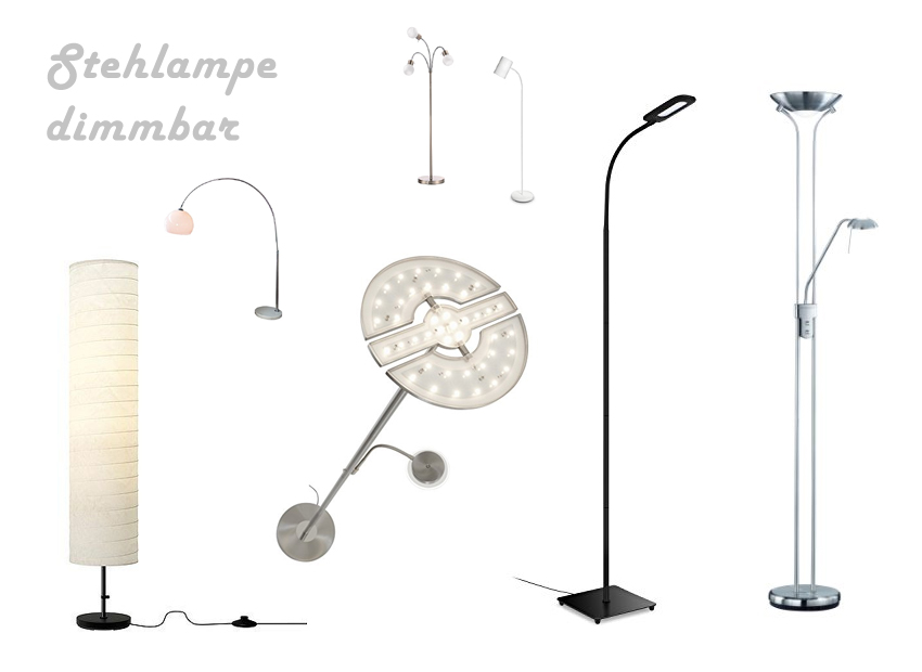 Stehlampe dimmbar f rs wohnzimmer - Stehlampe wohnzimmer dimmbar ...